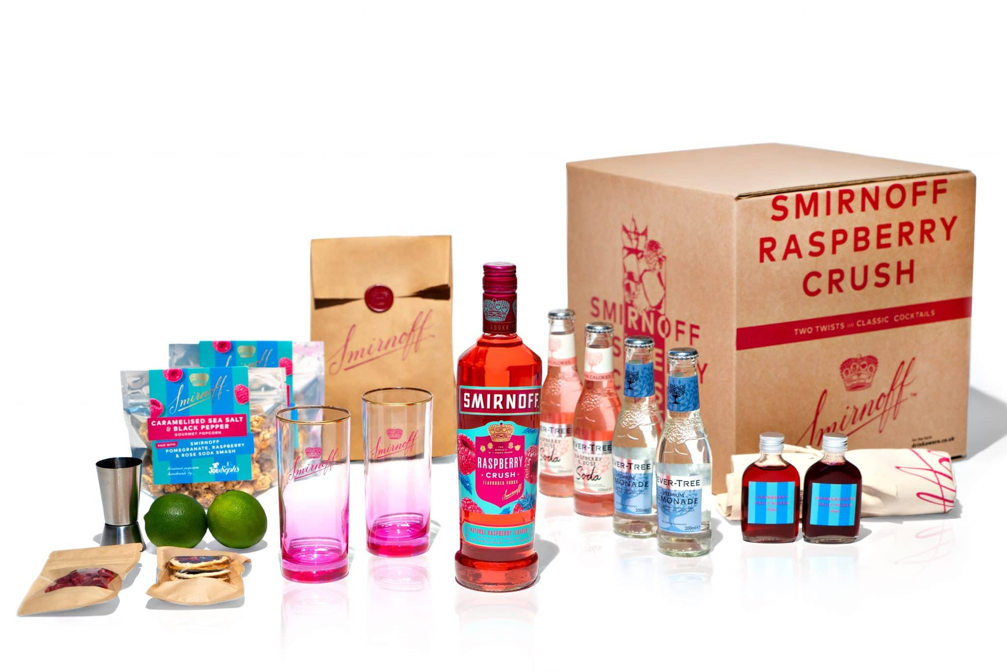 smirnoff raspberry crush cocktail kit