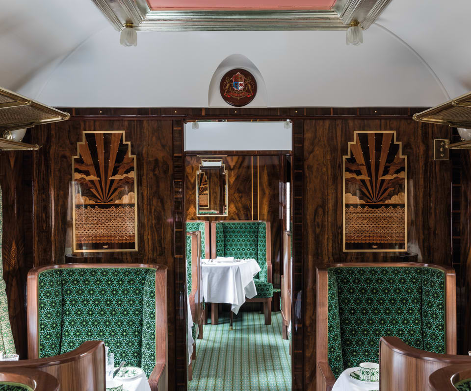 A Wes Anderson Inspired Train Is Rolling Into London And You Can Take A Luxurious Ride
