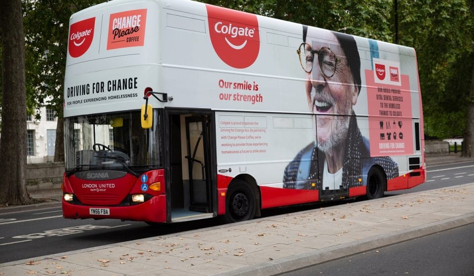 These Transformed London Buses Offer Mobile Care To The Homeless