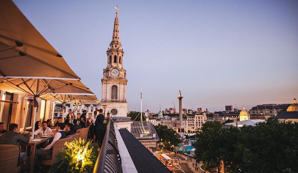 The Rooftop Sushi And Omakase Restaurant Overlooking Trafalgar Square • Bisushima