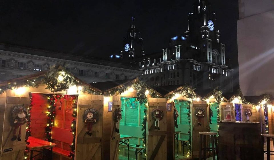 This Rooftop Winter Village In Liverpool Featuring Cosy, Heated Lodges Is Making A Return