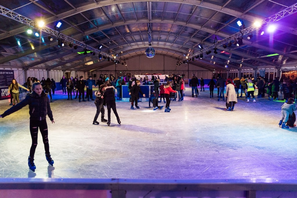liverpool ice festival ice rink