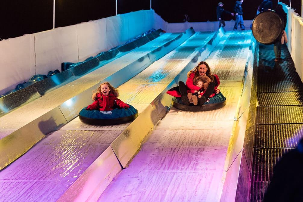 liverpool ice festival slide