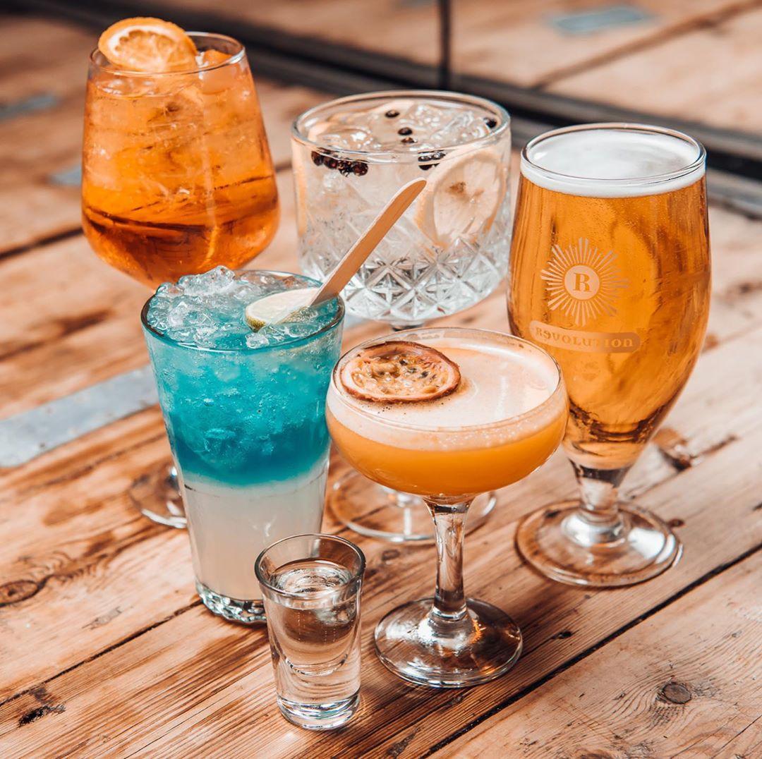drinks weird and wonderful brunch