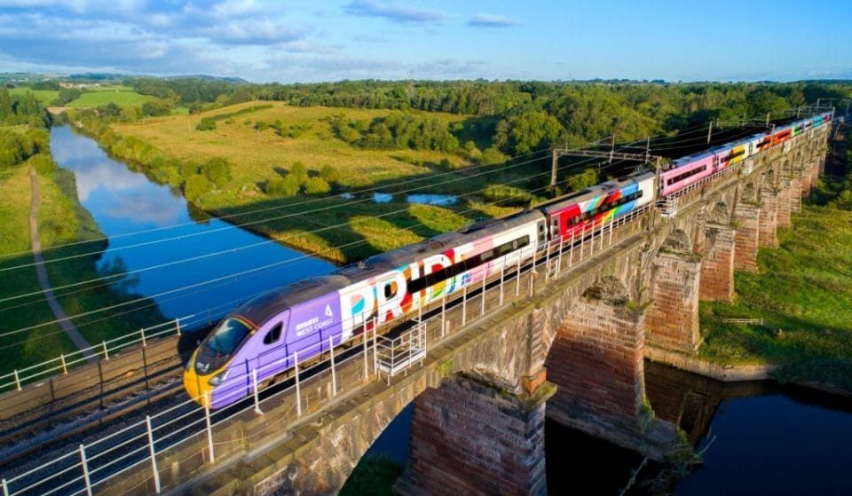 The UK's First Pride Train Is Now In Service, And It's Been Given A Lovely New Name