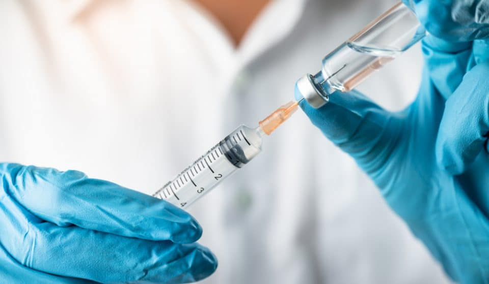 The UK's First Dose Of The Moderna Vaccine Has Been Given Today