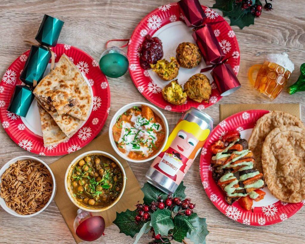bundobust mince pie parathas christmas menu