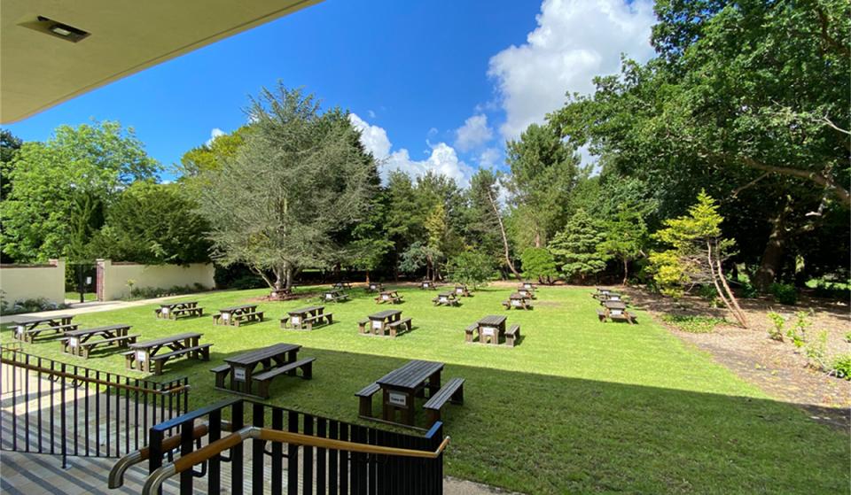 This Secret Garden Hidden In A Liverpool Park Is Opening Next Week For Outdoor Dining
