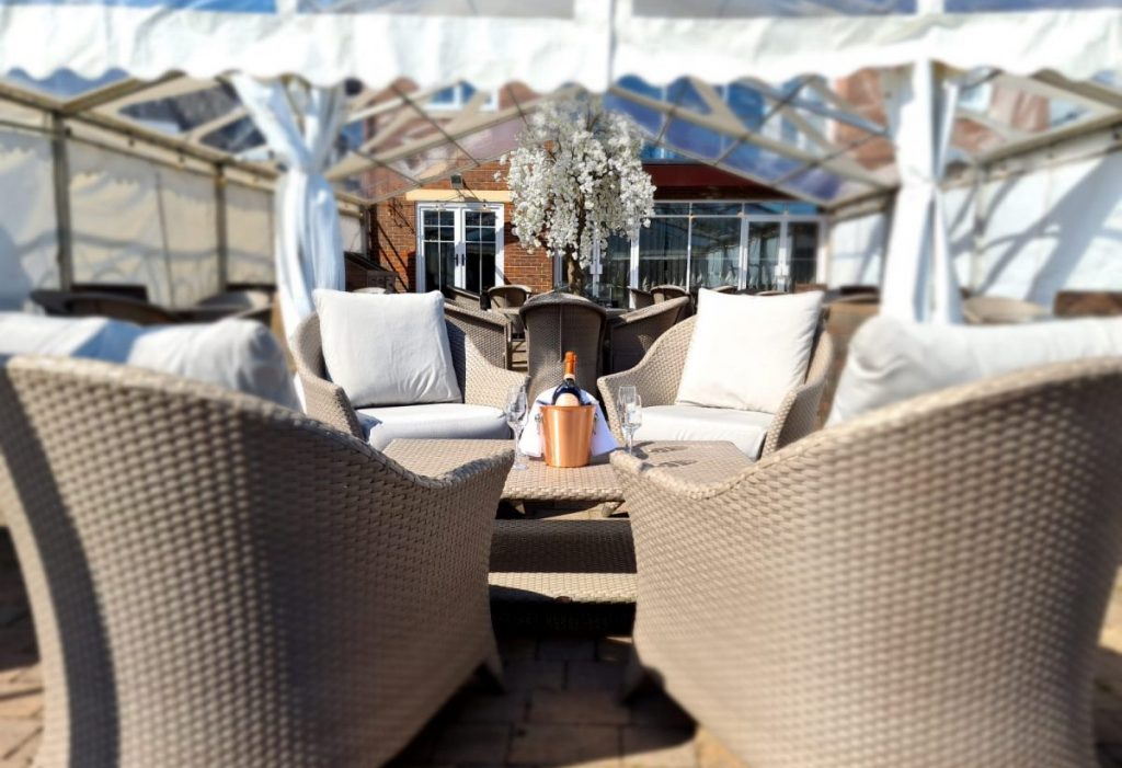 The Patio at Formby Hall Golf Resort & Spa 1