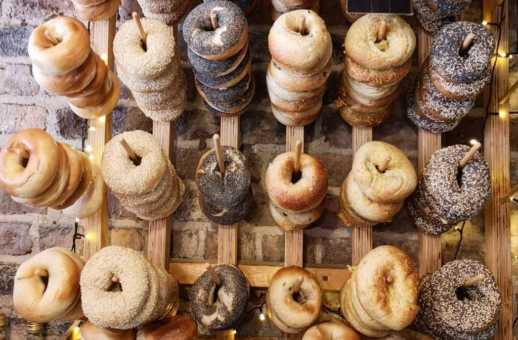 the-bagelry-bagels
