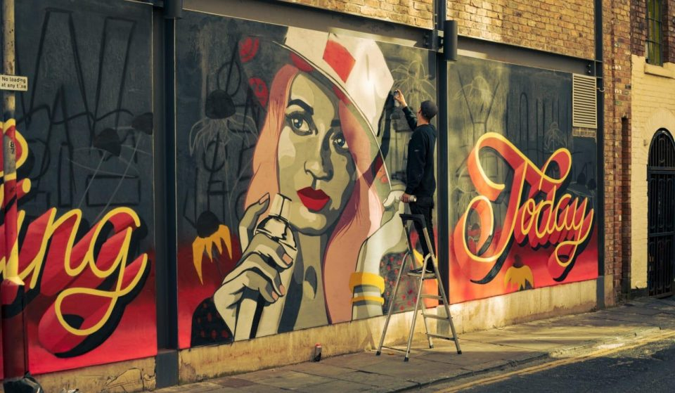 A New Mural Dedicated To The Hospitality Industry Has Been Unveiled In Liverpool