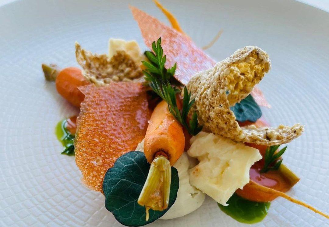 panoramic 34 carrot dish