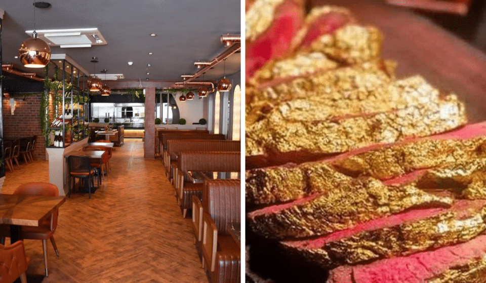 You Can Get A 24k Gold Steak At This Liverpool Restaurant, And It's Blinging Marvellous