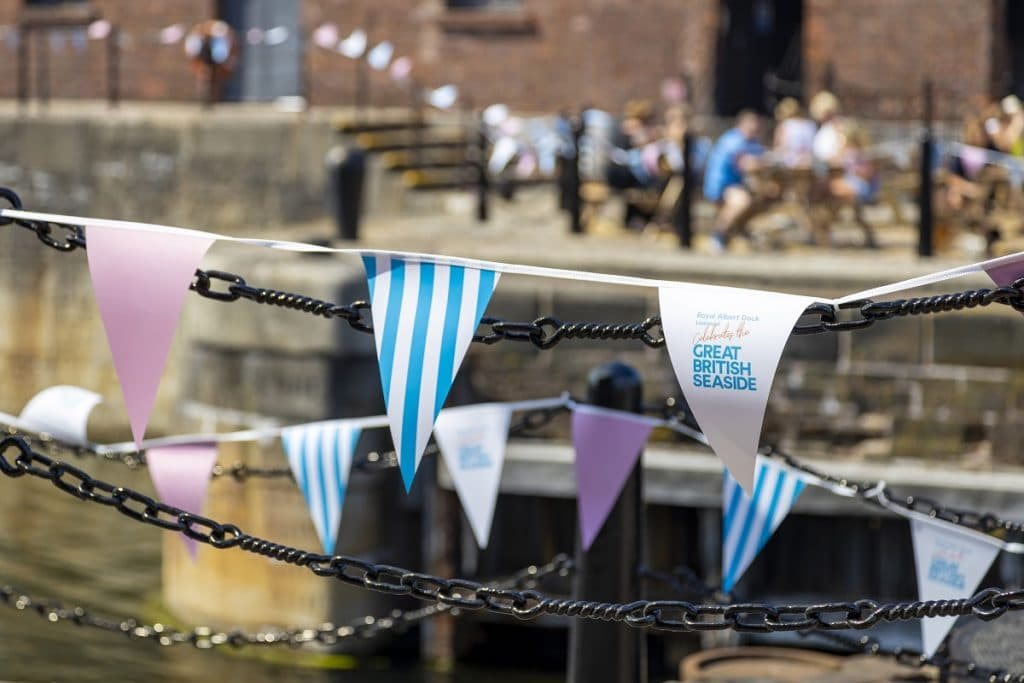 Liverpool's Royal Albert Dock Is Bringing A Taste Of The Seaside To The City This Summer