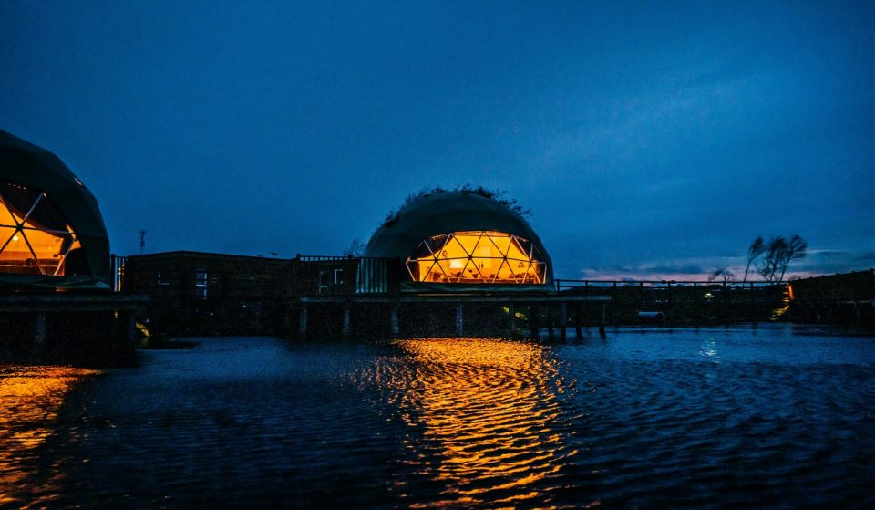 Escape To A Waterside Haven In These Stunning Glamping Domes Just A Short Drive From Liverpool