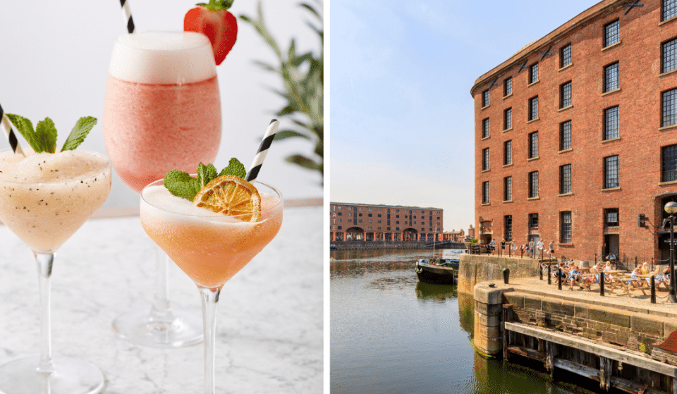 A Rosé Weekender Featuring Frosé Slushies Is Taking Place At Albert Dock This Bank Holiday Weekend