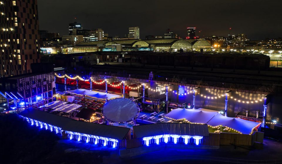 A Twinkling Winter Island With Karaoke And Mulled Wine Is Popping Up In Manchester Next Month