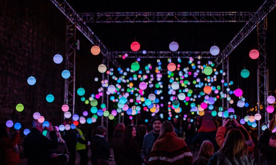 The Outdoor Illuminated River Of Light Trail Is Returning To Liverpool's Waterfront This Autumn