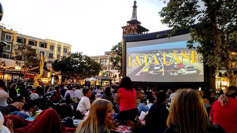 Tuesday 'Movies On The Green' Are Back At The Americana At Brand