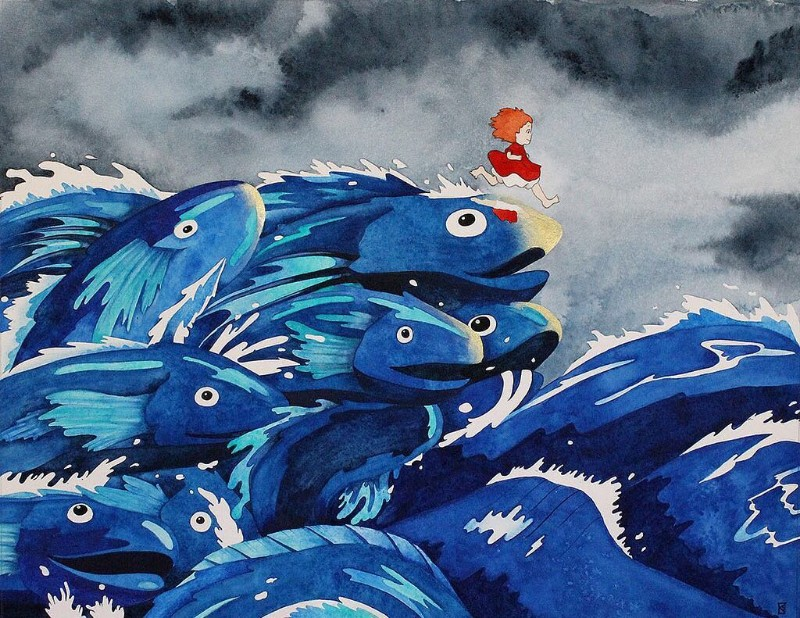 A Tribute Exhibition For Hayao Miyazaki Will Be In Santa Monica This Weekend