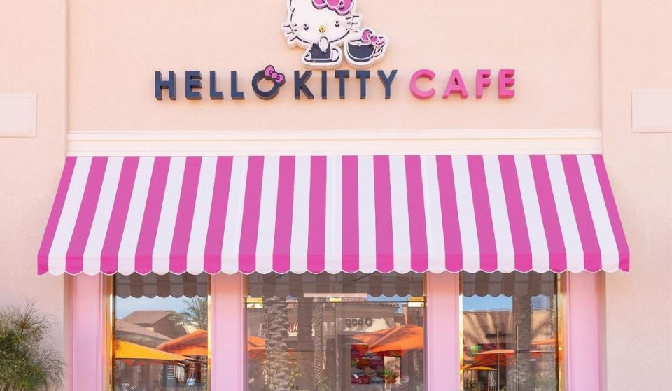 The Hello Kitty Cafe & Cocktail Lounge In Irvine Is Open And It Has A Zesty New Pop-Up Menu