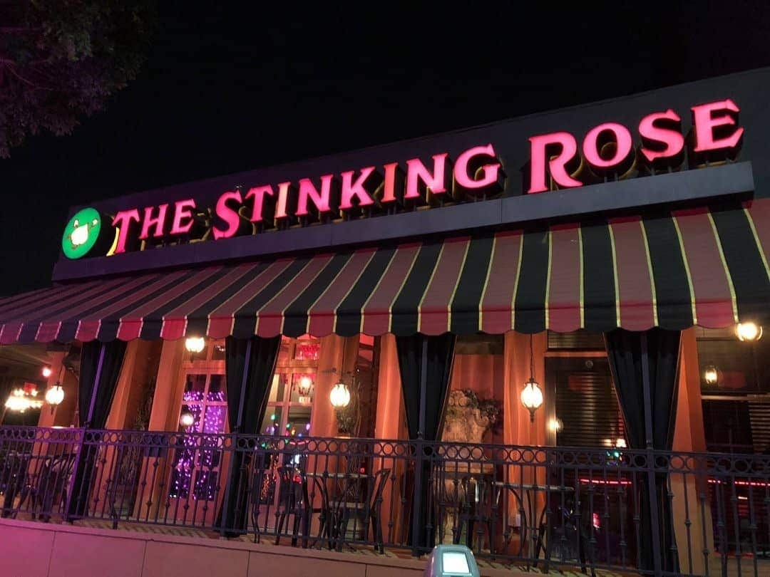 The Stinking Rose Serves Over 50 Garlic-Infused Dishes Including Garlic Chardonnay