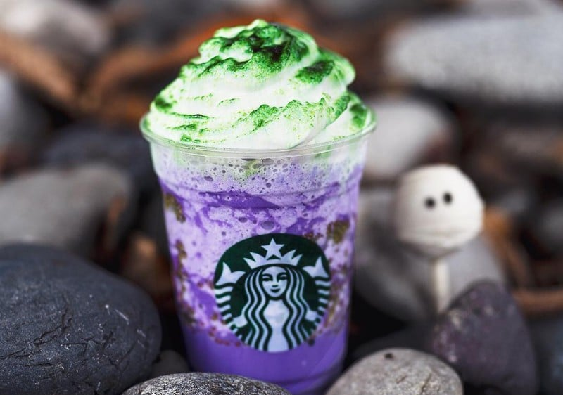 If You're Looking For A Halloween Treat, Try Starbucks' Spooky New Drink