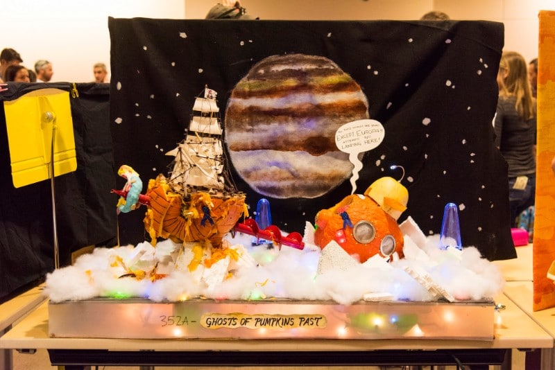 NASA Has A Yearly Pumpkin-Carving Contest And It's Out Of This World