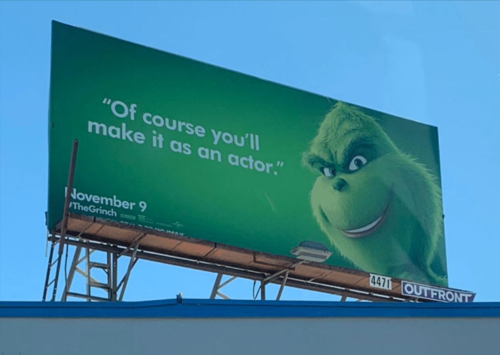 The Grinch Billboards Around L.A. Are So Accurate It Hurts