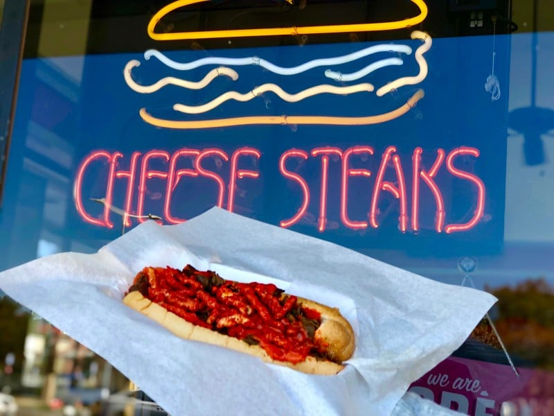 This Flamin' Hot Philly Cheesestake May Be Your New Obsession