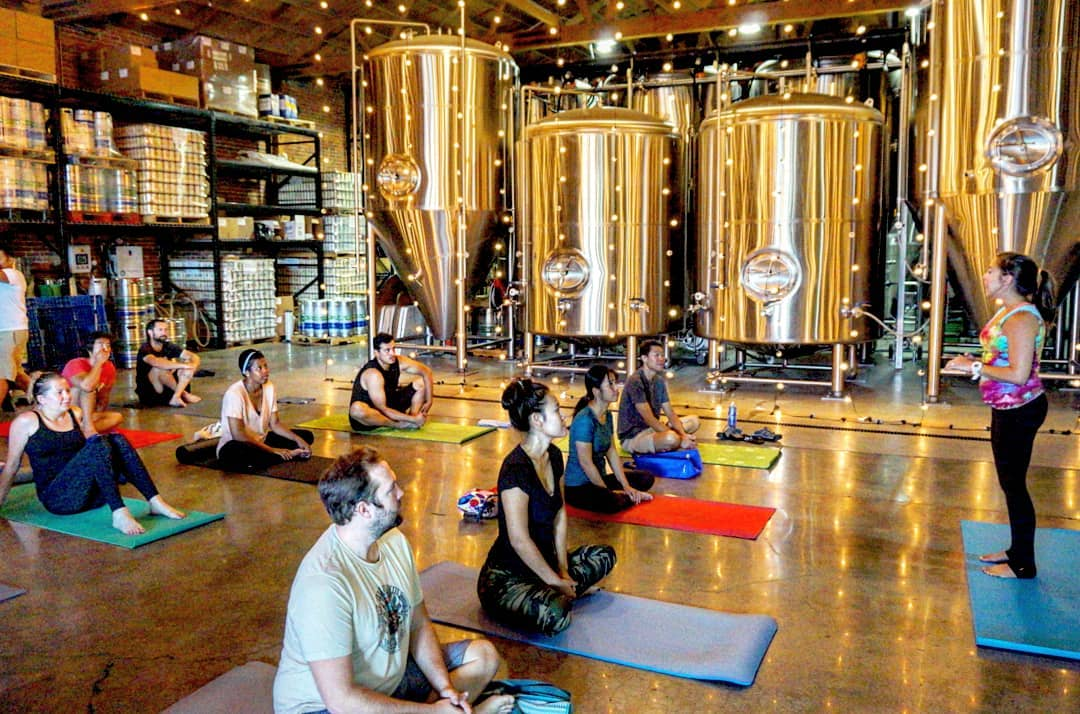 'Downward Grog' Is The Yoga-In-A-Brewery Sensation We Didn't Know We needed
