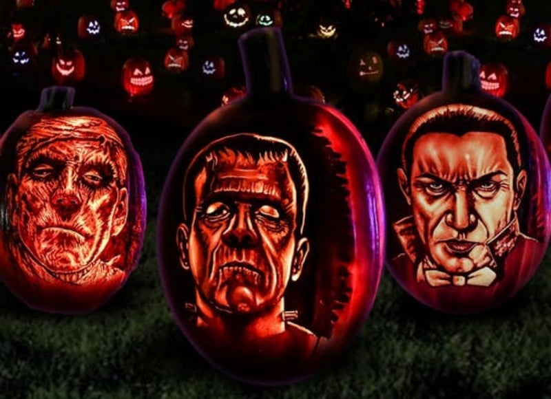 Thousands Of Carved Pumpkins Are Lighting Up The City • Nights Of The Jack