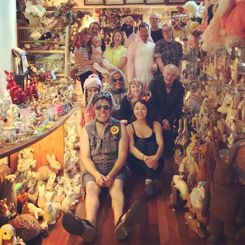 Visit Bunny Museum Weird