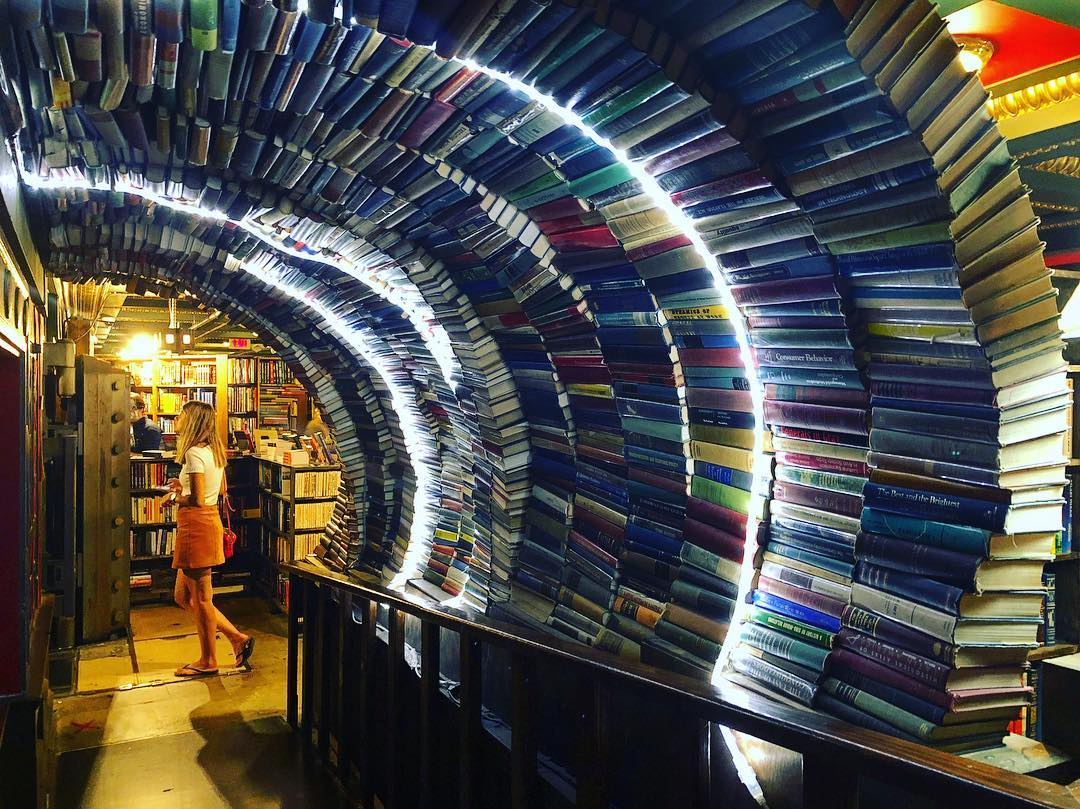 Find A Magical Tunnel Of Books In L.A.'s Biggest Bookstore • The Last Bookstore