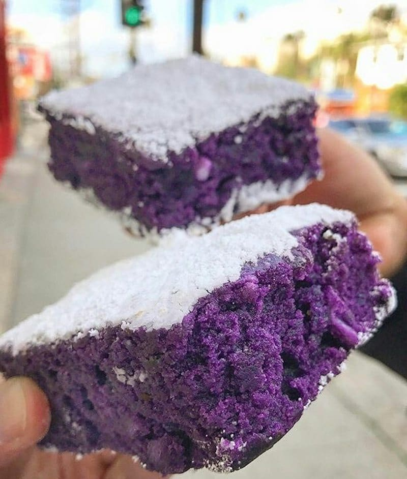 Ube Brownie FrankieLucy