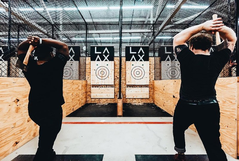 North Hollywood Now Has Its Own Kick-Ass Ax-Throwing Bar