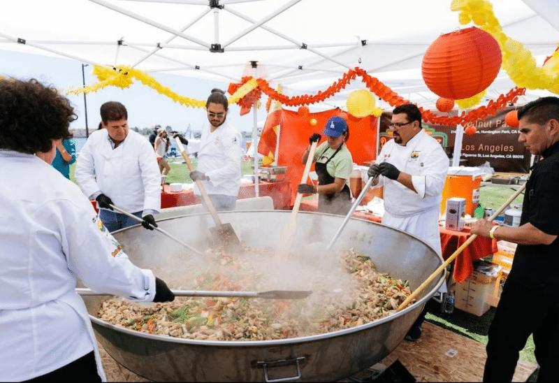 Sample The Largest Paella Ever Made In America This Saturday