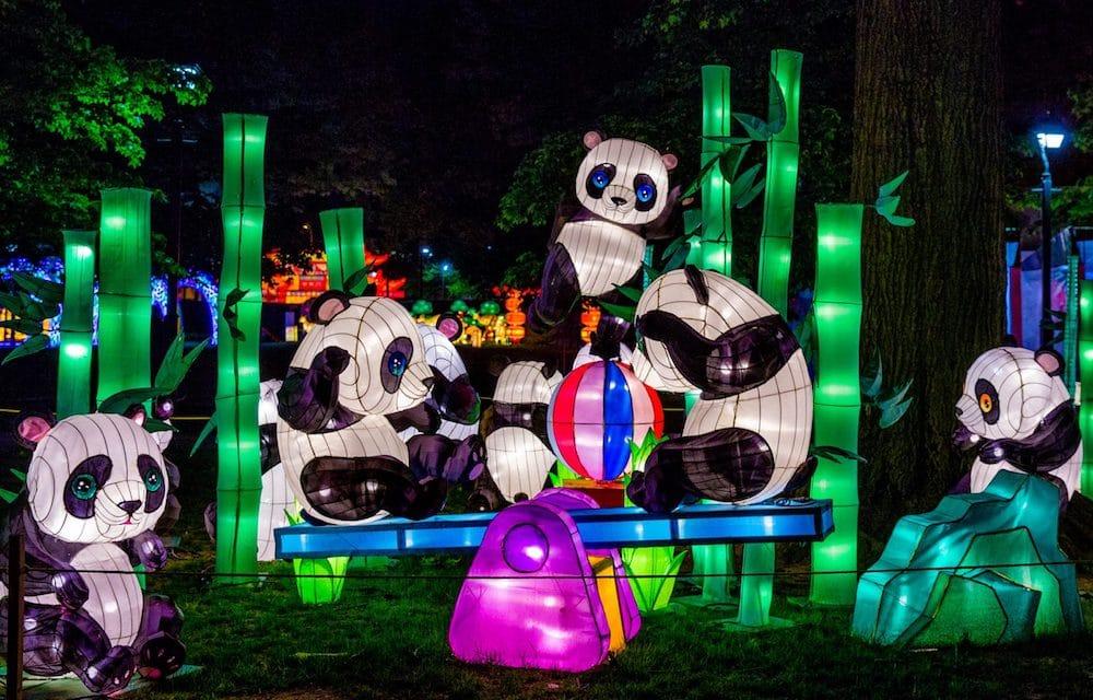 Arboretum chinese lanterns