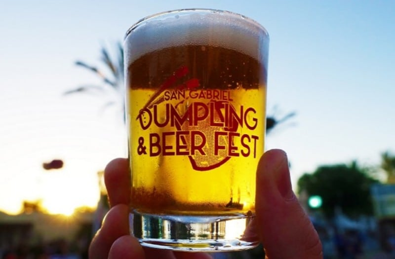 San Gabriel Is Throwing A Twist On Oktoberfest By Hosting A Dumpling & Beer Festival