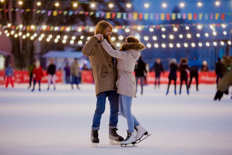 Best Outdoor Ice Skating Rinks In Los Angeles