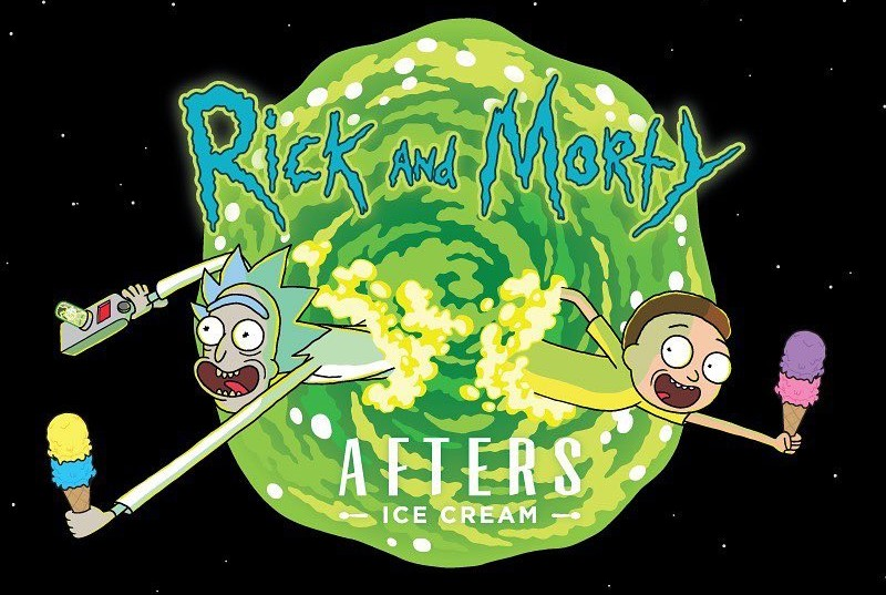 Find Out How To Get Free Rick And Morty x Afters Ice Cream Merch