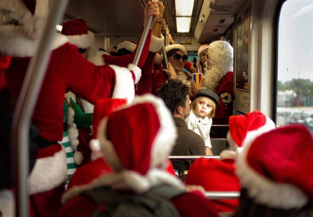 Hope You Haven't Been Too Naughty Because SantaCon Is Coming To Town