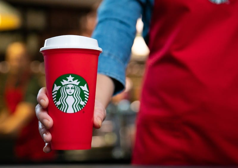 Get A Free Reusable Red Cup When You Order A Holiday Drink From Starbucks Today
