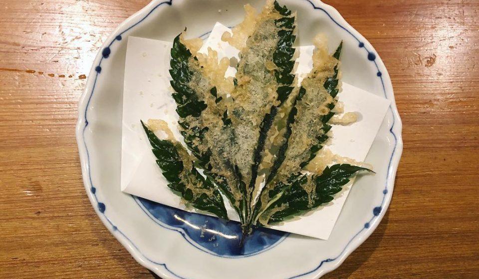 This DTLA Restaurant Serves Deep-Fried Marijuana Leaves