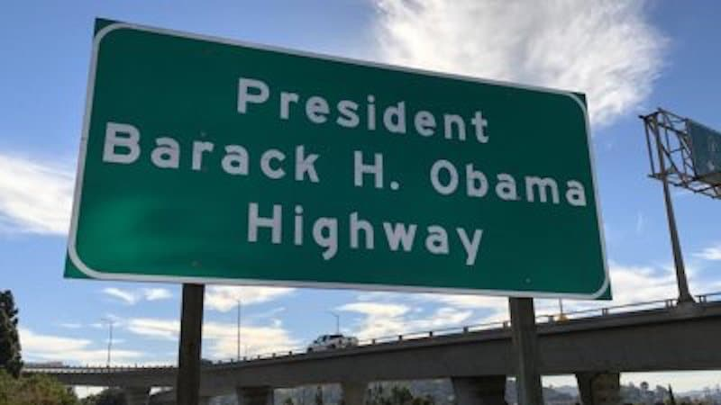 You Can Officially Drive On The President Barack H. Obama Highway