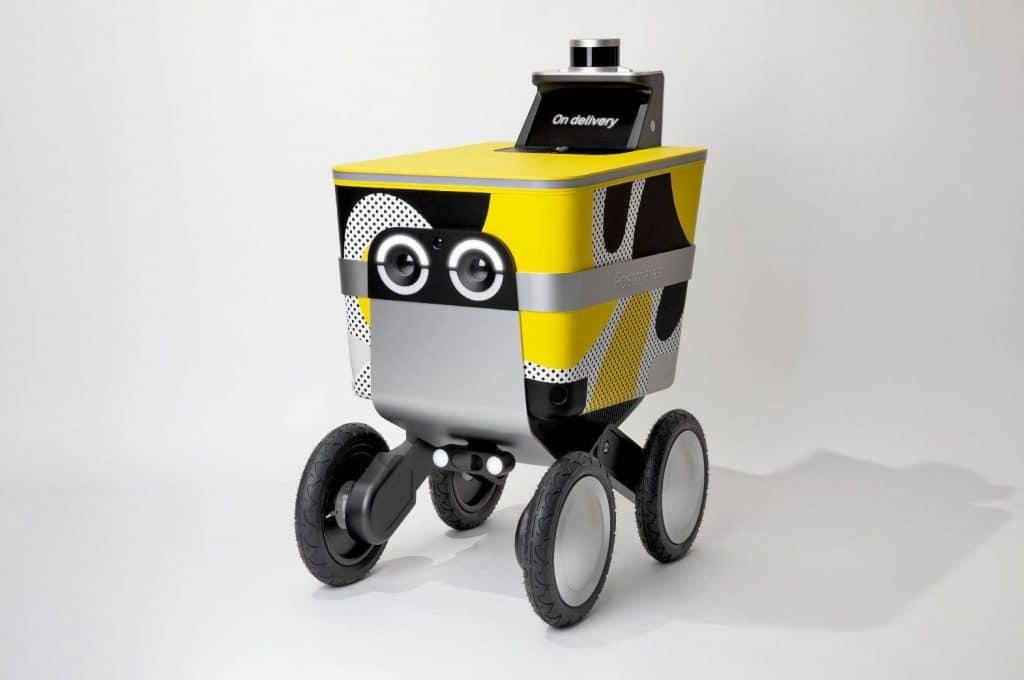 Watch Your Step! Postmates Plans To Release Autonomous Rovers On L.A. Sidewalks