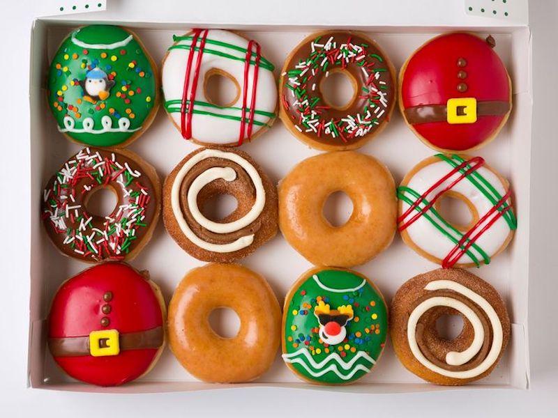 What's Better Than A Dozen Krispy Kreme Doughnuts For $1? We'll Wait…