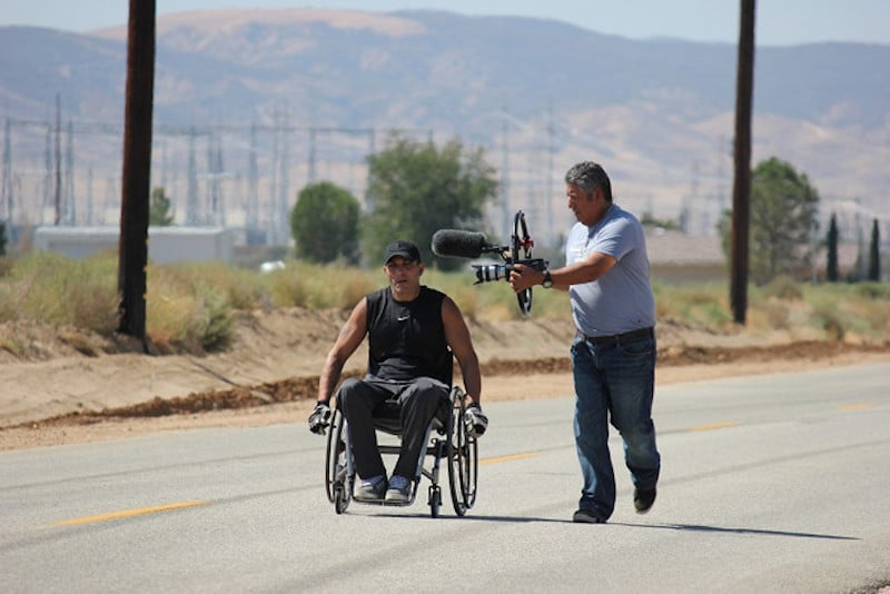 It Took 99 Days For This Man To Roll His Wheelchair From LA To NYC
