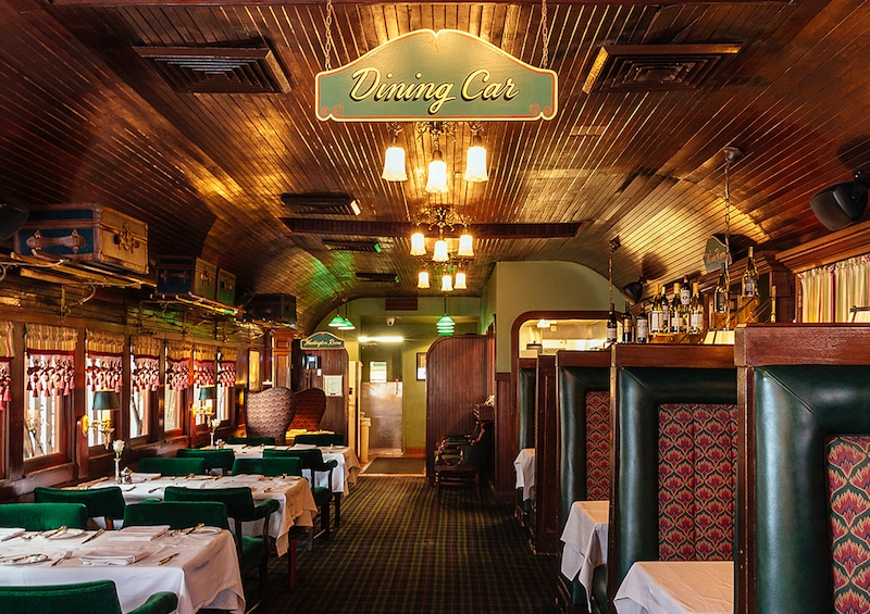 LA's Only All-Night Restaurant Where You Can Feast On A Steak In An Old Railway Dining Car
