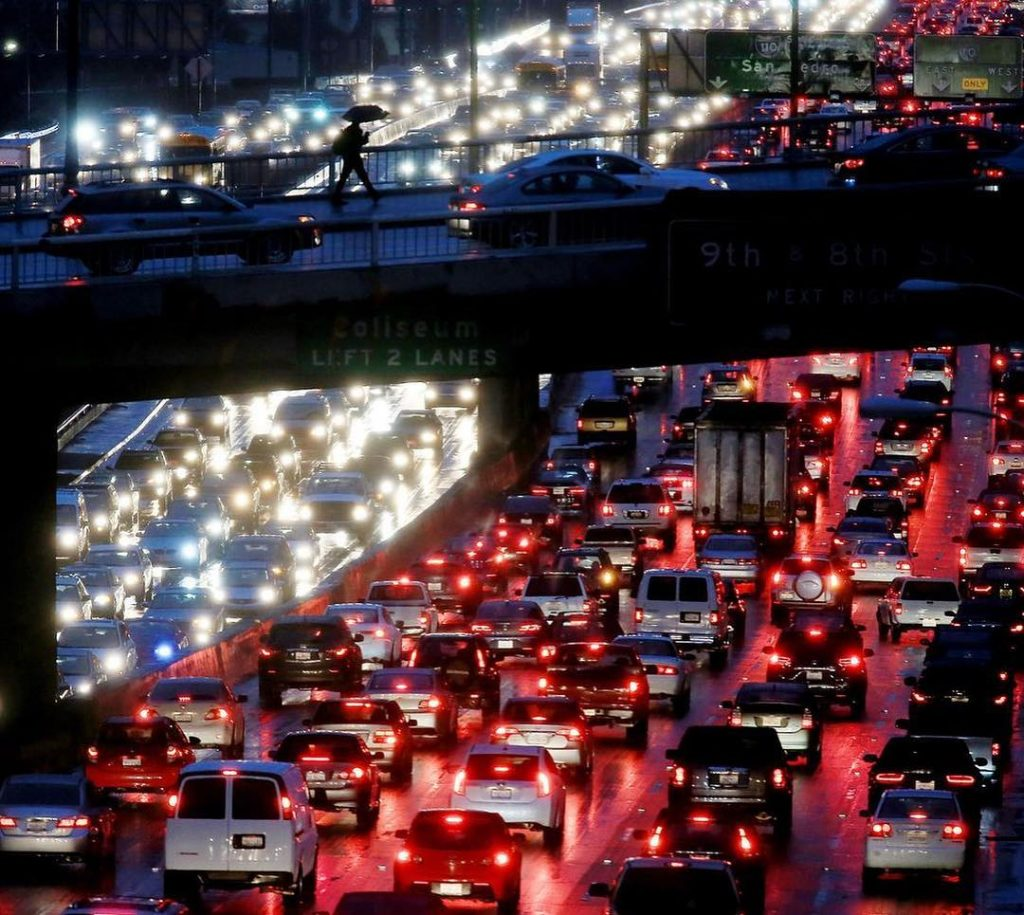 L.A. Wants To Start Charging By The Mile In An Effort To Reduce Traffic